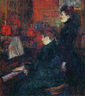 Toulouse-Lautrec - Portrait of Comtesse Adele-Zoe de Toulouse-Lautrec (The Artist's Mother) 1883