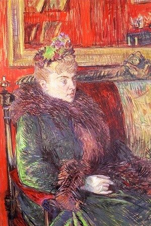 Portrait of Madame de Gortzikoff  1893