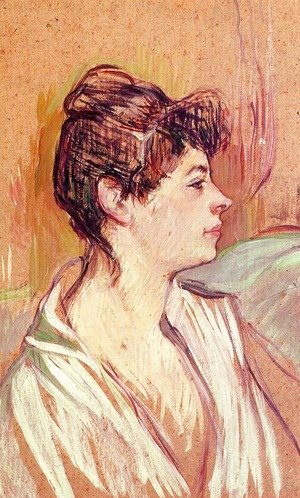 Toulouse-Lautrec - Portrait of Marcelle  1893-94