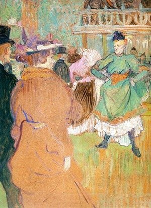 Toulouse-Lautrec - The Beginning of the Quadrille at the Moulin Rouge  1892