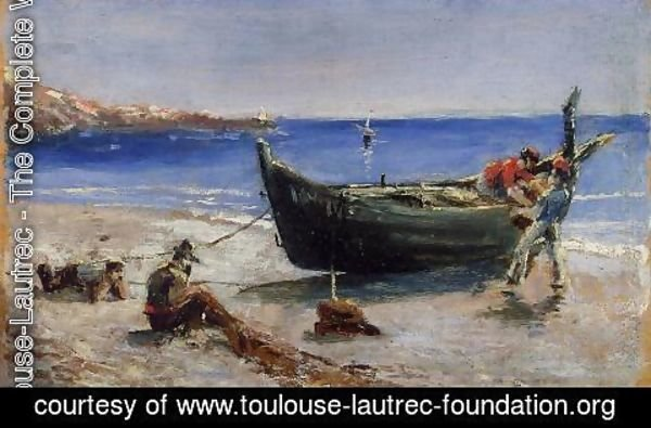 Toulouse-Lautrec - Fishing Boat