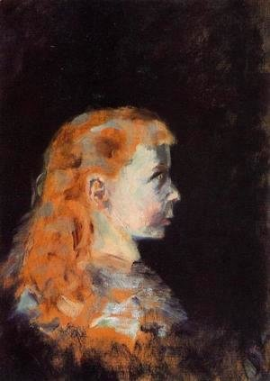 Toulouse-Lautrec - Portrait of a Child