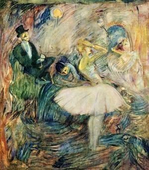 Toulouse-Lautrec - The Dancer in Her Dressing Room