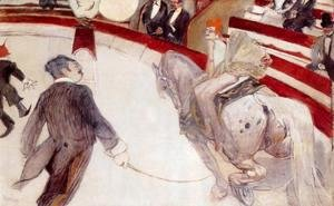 Toulouse-Lautrec - At the Cirque Fernando: The Ringmaster