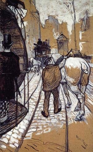 Toulouse-Lautrec - Workers for the Bus Company