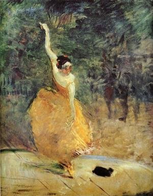 Toulouse-Lautrec - The Spanish Dancer