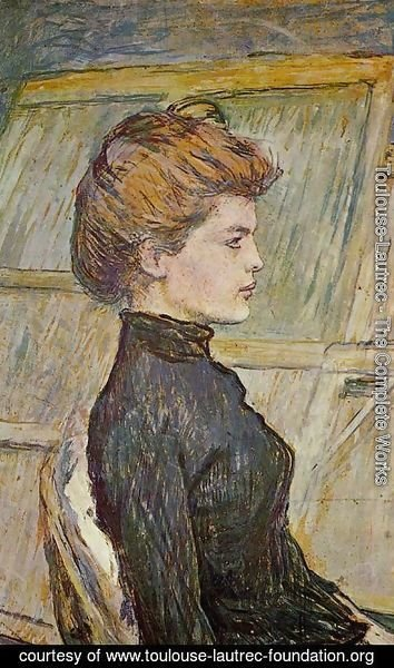 Toulouse-Lautrec - Portrait of Helen (detail)