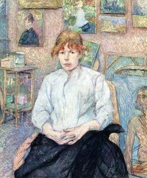 Toulouse-Lautrec - The Redhead with a White Blouse