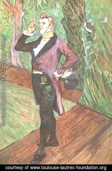Toulouse-Lautrec - Portrait of M. Samary