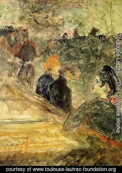 Toulouse-Lautrec - A Ball at the Moulin de la Galette