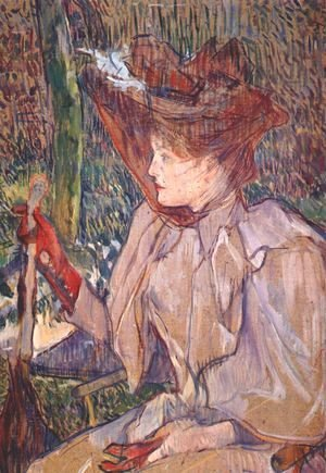 Toulouse-Lautrec - Woman with Gloves