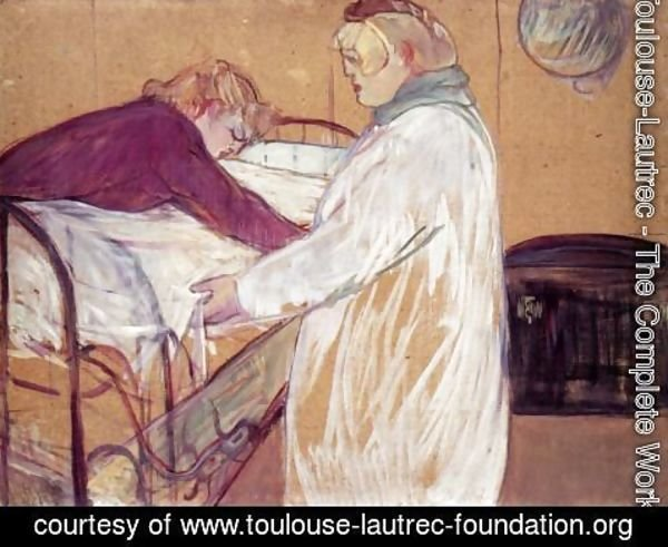 Toulouse-Lautrec - Two Women Making the Bed