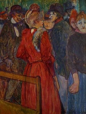 Toulouse-Lautrec - At the Moulin de la Galette