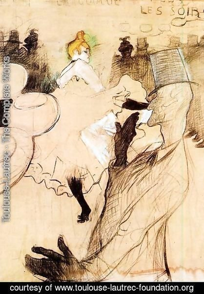 Toulouse-Lautrec - Le Goulue and Valentin, the 'Boneless One'