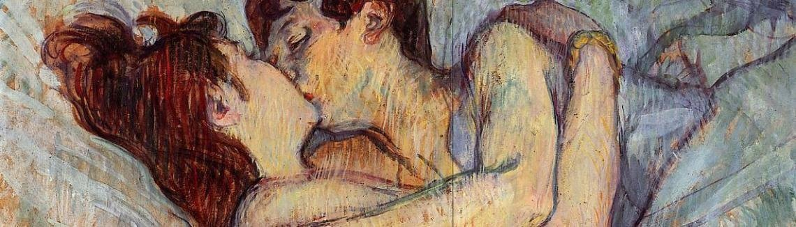 Toulouse-Lautrec - In Bed: The Kiss
