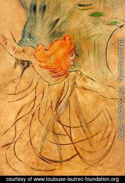 Toulouse-Lautrec - At the Music Hall - Loie Fuller