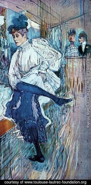 Toulouse-Lautrec - Jane Avril Dancing 2