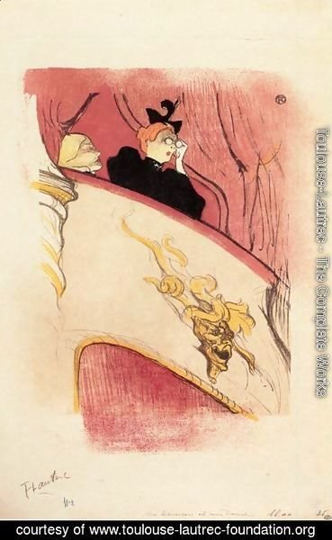 Toulouse-Lautrec - The Box with the Guilded Mask