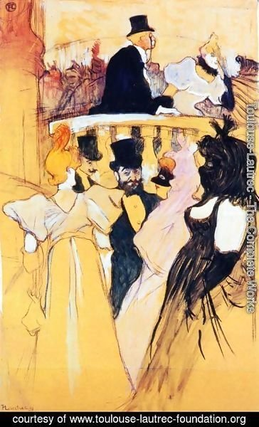 Toulouse-Lautrec - At the Opera Ball