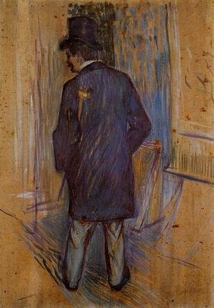Toulouse-Lautrec - Monsieur Louis Pascal from the Rear