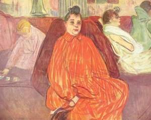 Toulouse-Lautrec - At the Salon, the Divan