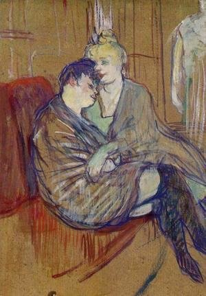 Toulouse-Lautrec - The Two Girlfriends 2