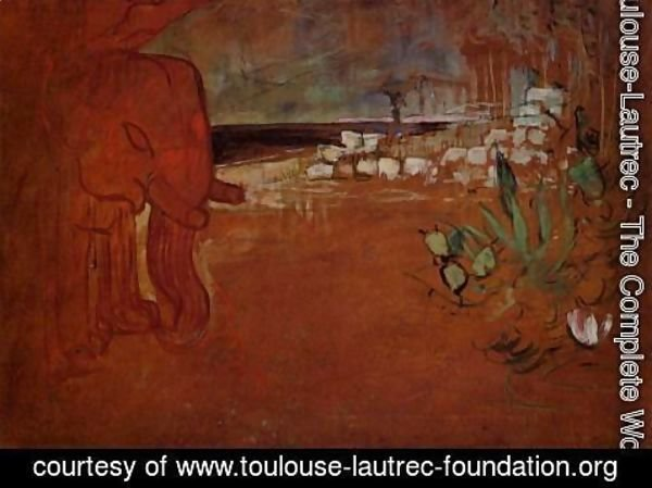 Toulouse-Lautrec - Indian Decor