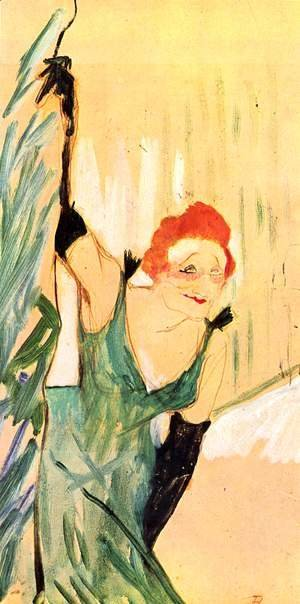Toulouse-Lautrec - Yvette Guilbert Taking a Curtain Call