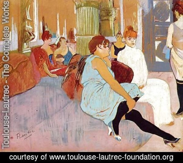 Toulouse-Lautrec - The Salon in the Rue des Moulins I