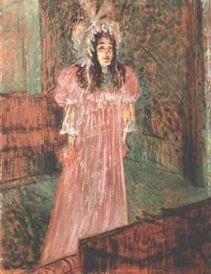 Toulouse-Lautrec - Miss May Belfort I