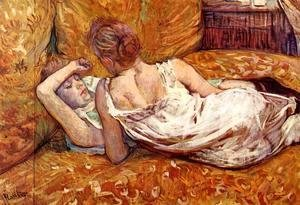 Toulouse-Lautrec - Devotion: the Two Girlfriends