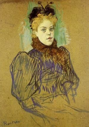 Toulouse-Lautrec - May Milton 2