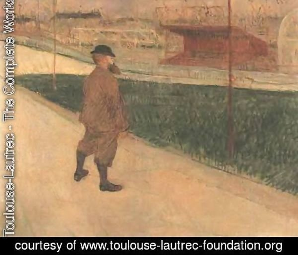 Toulouse-Lautrec - Tristan Bernard at the Buffalo Station