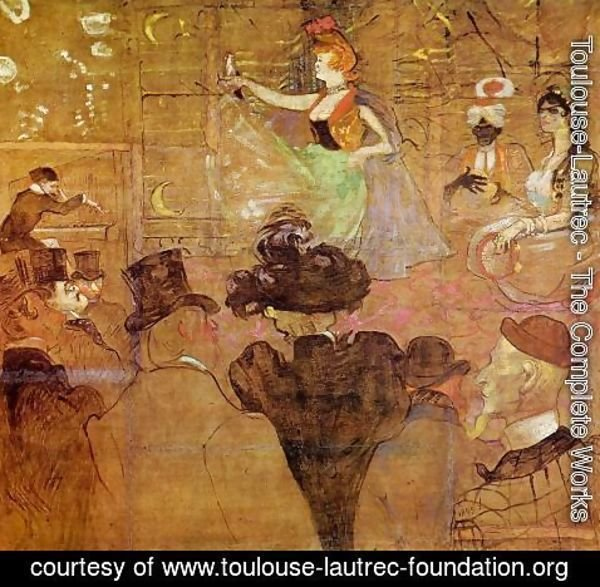 Toulouse-Lautrec - La Goulue Dancing