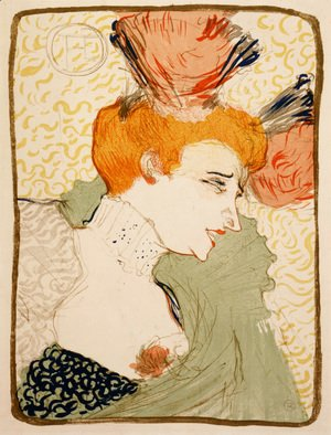 Toulouse-Lautrec - The Actress Marcelle Lender