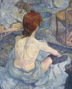 Toulouse-Lautrec - Woman at Her Toilette I