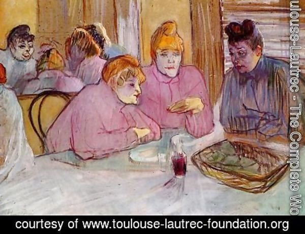 Toulouse-Lautrec - Woman in a Brothel
