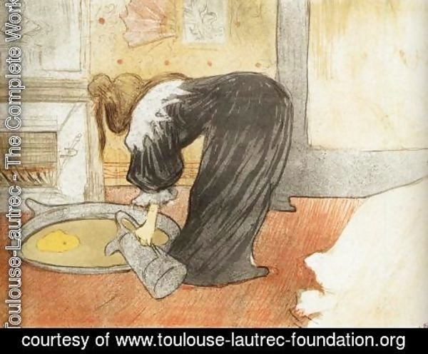 Toulouse-Lautrec - Elles: Woman with a Tub