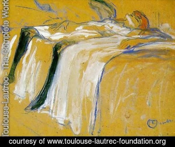 Toulouse-Lautrec - Alone