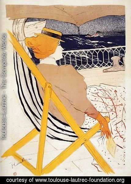 Toulouse-Lautrec - The Passenger in Cabin 54 2