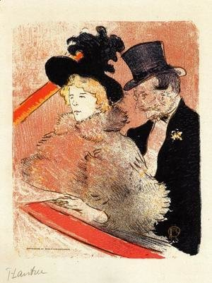 Toulouse-Lautrec - At the Concert