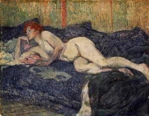 Toulouse-Lautrec - Reclining Nude