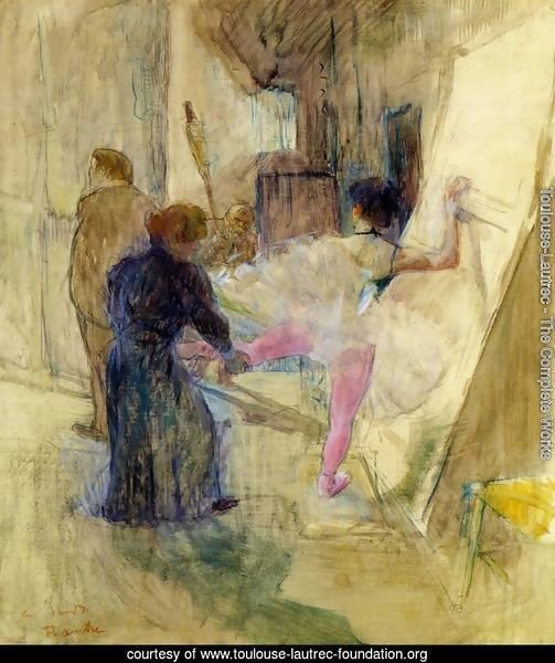 Toulouse lautrec the complete works behind the scenes for Toulouse lautrec works