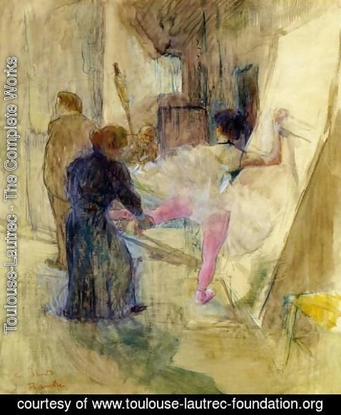 Toulouse-Lautrec - Behind the Scenes