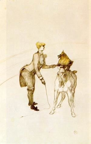 Toulouse-Lautrec - At the Circus: The Animal Trainer