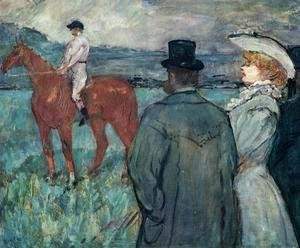 Toulouse-Lautrec - At the Races