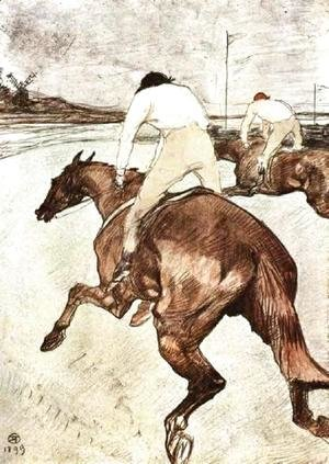 Toulouse-Lautrec - The Jockey 2