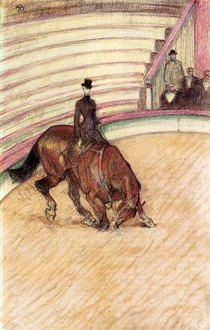 Toulouse-Lautrec - At the Circus: Dressage