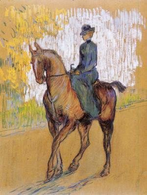 Toulouse-Lautrec - Side-Saddle