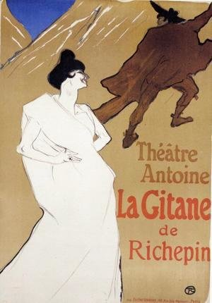 Toulouse-Lautrec - La Gitane 'The Gypsy'